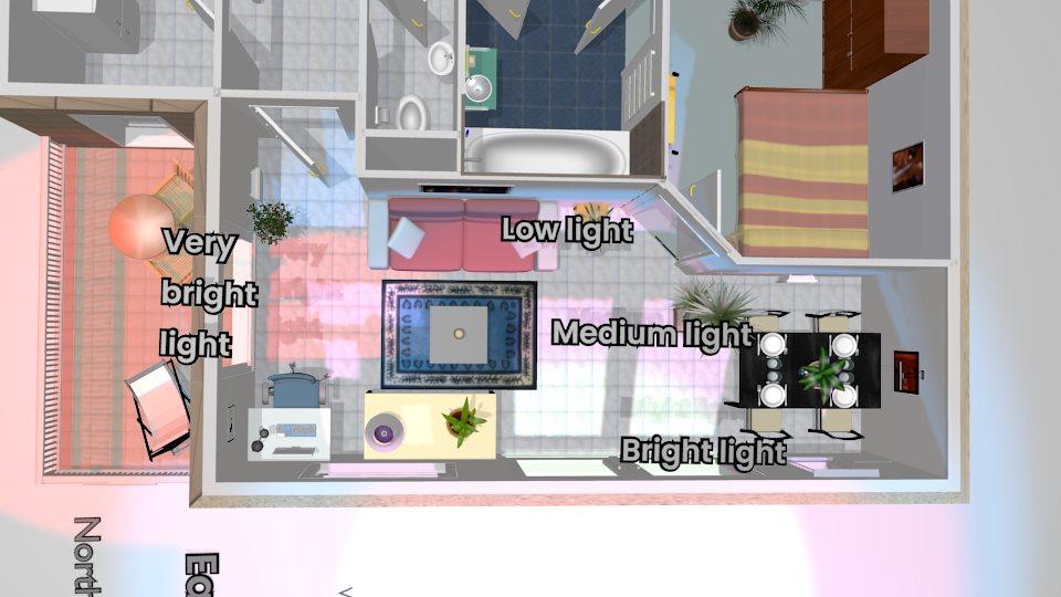Light scene Light map 2