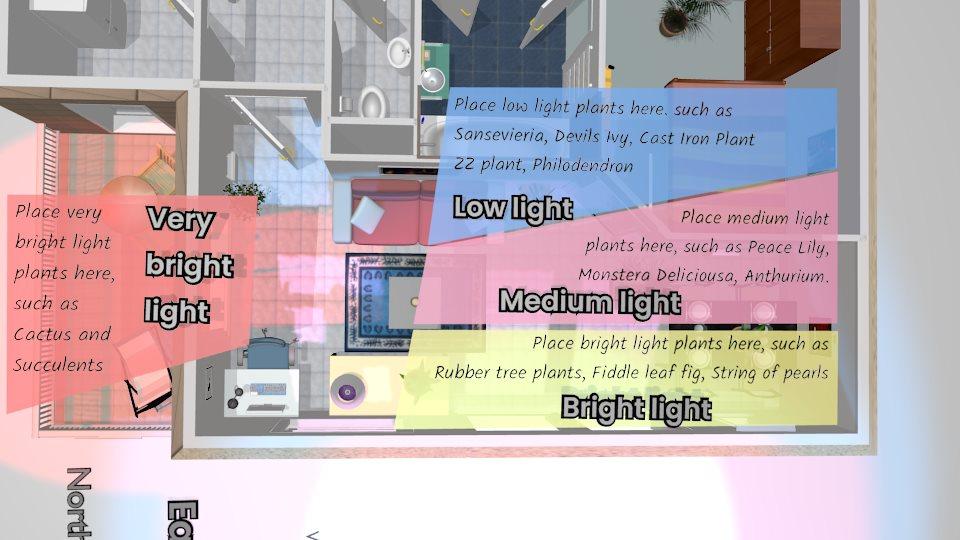 Light scene Light map 3