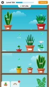 Terrarium Garden Idle App screen