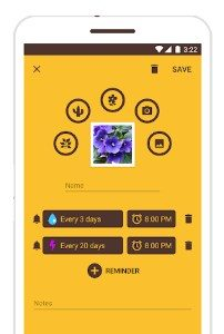 WaterBot app screen