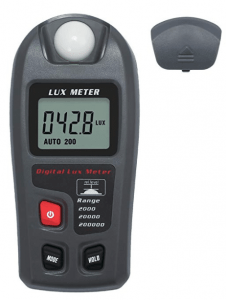 Lux light measuring device