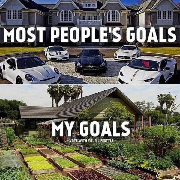 Plant goals versus other people goals